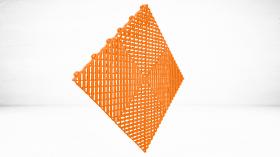 Dalle Polypropylène Orange
